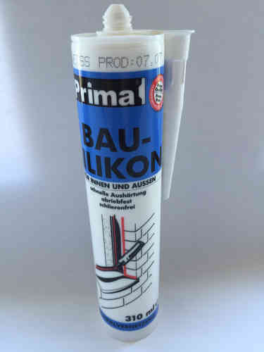 Prima Bau-Silikon transparent 310 ml